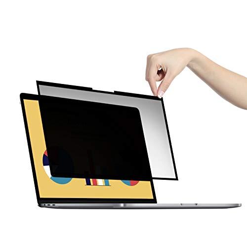 """VistaProtect - Filtro de Privacidad y Filtro De Anti Luz Azul Premium para Computadoras Portátiles con Pantalla Plana De Vidrio, Desmontable (15.6"""" Pulgadas)"""
