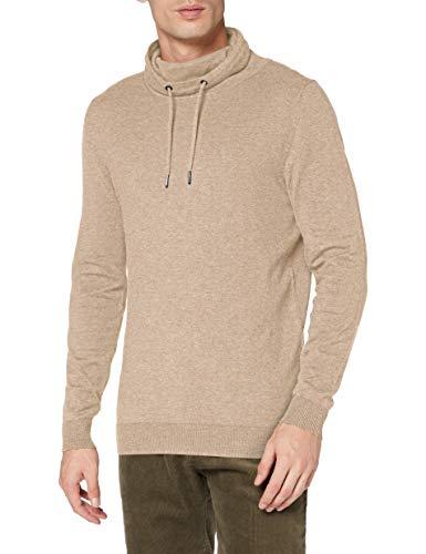 ESPRIT Herren 100EE2I312 Pullover, 294/LIGHT BEIGE 5, XXL