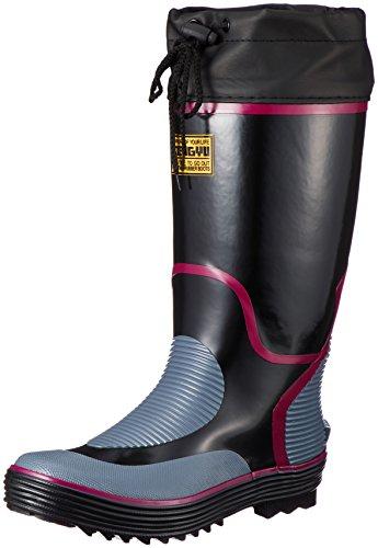 [富士手袋工業] 長靴 作業靴 レインブーツ カバー付 899 メンズ BLACK 26.0cm