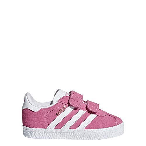 adidas Unisex Baby Gazelle Cf I Hausschuhe, Pink (Rosa 000), 22 EU