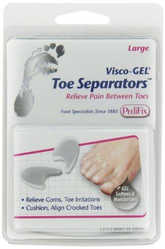 PediFix Visco-gel Toe Separators, Large, 2 Count