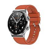 Relojes inteligentes para hombres y mujeres, pantalla táctil completa de 1.28 ', podómetro a prueba de agua IP67, reloj fitness tracker con monitor de sueño, reloj inteligente para teléfonos Android