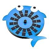 Bomba solar de la fuente de la forma de la ballena con 4 boquillas Bomba de agua solar para el estanque del jardín del acuario del baño de aves