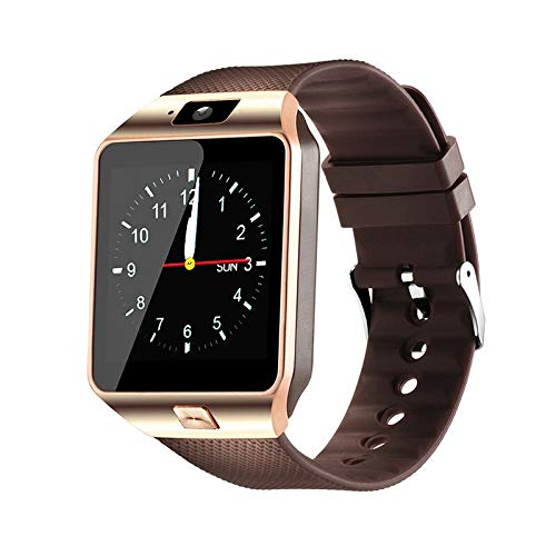 Fentorn DZ09 Smartwatch, Bluetooth, Smartwatch, für IOS iPhone Samsung Huawei PK GT08 Q18 gold