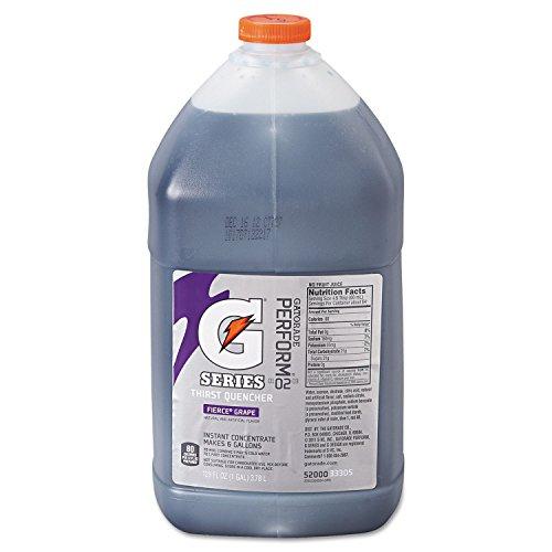 Gatorade Liquid Concentrate, Fierce Grape, 1 Gallon Jug - four bottles.