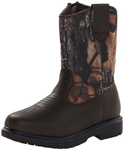 Deer Stags boys Tour Pull-On Boot , Camouflage/Brown, 12 M US Little Kid
