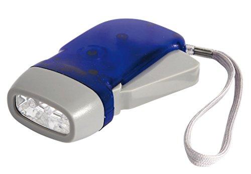 Camp-Gear - Lampe-dynamo - Rechargeable - Bleu - 20 Lumens