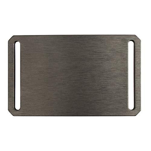 Gunmetal Grey Belt Buckle