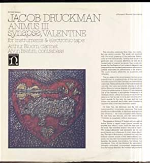Columbia Princeton Electronic Music Center with Alvin Brehm Performing Jacob Druckman-valentine