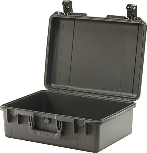 PELI Storm IM2600 Professioneller Fotokoffer mit Zwei Verschlussmöglichkeiten, Wasser- und Staubdicht, 35L Volumen, Hergestellt in den USA, Ohne Schaum, Schwarz