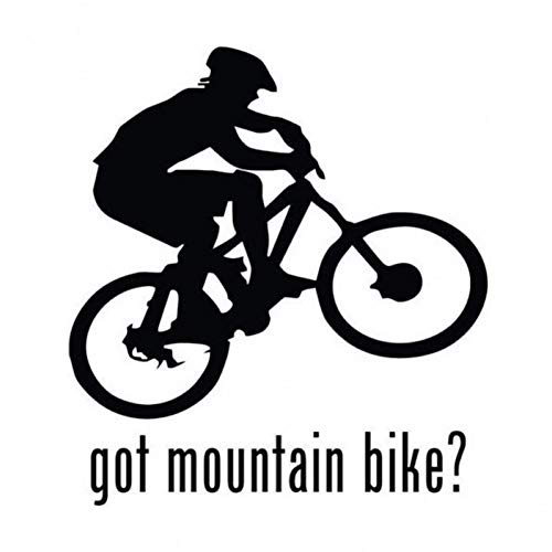CTMNB Autosticker Outdoor Extreme Sports Got Mountain Bike Auto Stickers Vinyl Creatieve Beweging Raamstickers