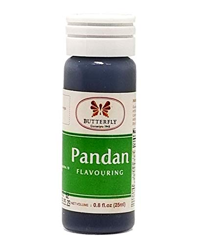 Butterfly Pandan Flavoring Extract 0.8 Oz.(25 ml)