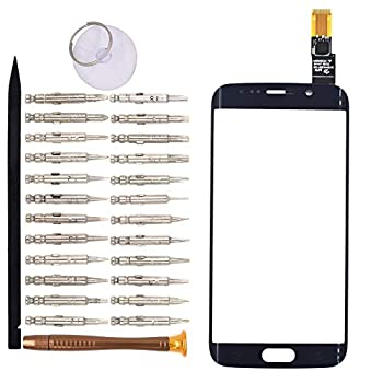 Goodyitou Touch Screen Glass Digitizer Replacement for Samsung Galaxy S6 edge/G925F/G925FQ/G925I/G925A/G925T Blue