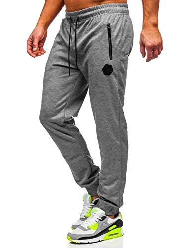 BOLF Hombre Pantalón De Chándal Jogger Pantalones Deportivos Estilo Deportivo 6F6
