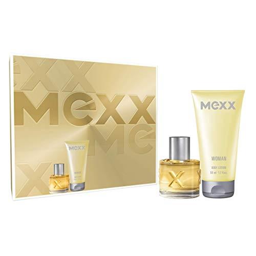 Mexx Woman Premium Geschenkset Eau de Toilette und Bodylotion mit abwechslungsreichen Noten, für selbstsichere Frauen, 1 x 20 ml und 1 x 50 ml