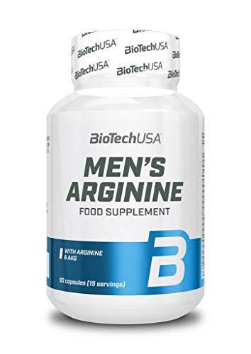 BioTechUSA Men's Arginine, 90 Caps, 105 g