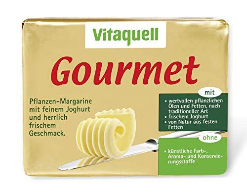 Vitaquell Gourmet, 250 g Pflanzen-Margarine mit frischem Joghurt