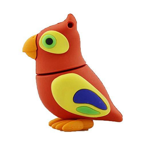 32GB red parrot modello usb penna driveu disco scheda di memoria usb flash drive usb chiavetta usb u disco