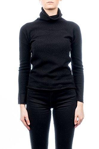 DALLE PIANE CASHMERE - Rollkragenpullover 100% Kaschmir - Frau, Farbe: Schwarz, Größe: S