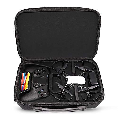 Tello drone portátil Estuche Bolsa de Almacenamiento Caja Bolso de Hombro para dji Tello drone Accesorios Maleta de Transporte con Mando a Distancia Gamesir T1D Minidrone Estuche de Viaje Maleta