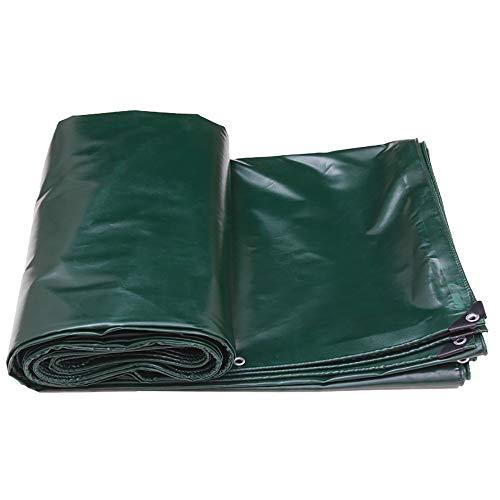 LXLIGHTS Bache Impermeable Auvent, De Plein Air Bâche Camion Linoléum Toile De Protection Imperméable/Neige/Soleil, Polyester Epaisseur 0.5MM 520g \ M2 (Couleur : Green(B), Taille : 300 * 300cm)