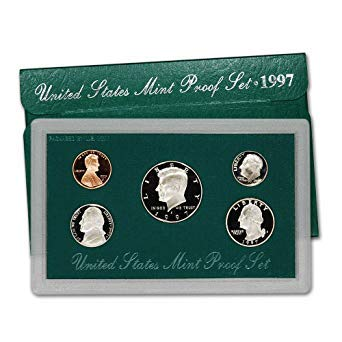 1997 United States Mint Proof Set Original Government Packaging Superb Gem Uncirculated (United States Mint Proof Set 1997 Value)