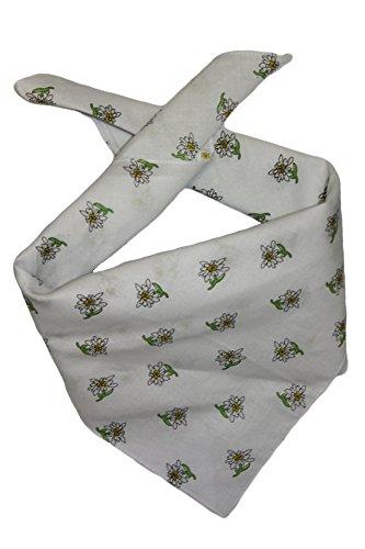 Edelnice Trachtenmode Edelnice Trachtenmode Trachten Halstuch aus Baumwolle viele (weiß)