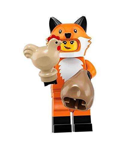 LEGO Minifigures Series 19: Fox Suit Mascot Minifigure 71025