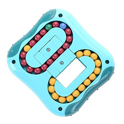 CaLeQi Décompression Rotation Magic Bean Cube Jouets Carré Rotatif Petites Perles Cube Magique Puzzle pour Enfants Décompression Forme Spéciale Cube Magique Jeu De Balle Jouets Créatifs