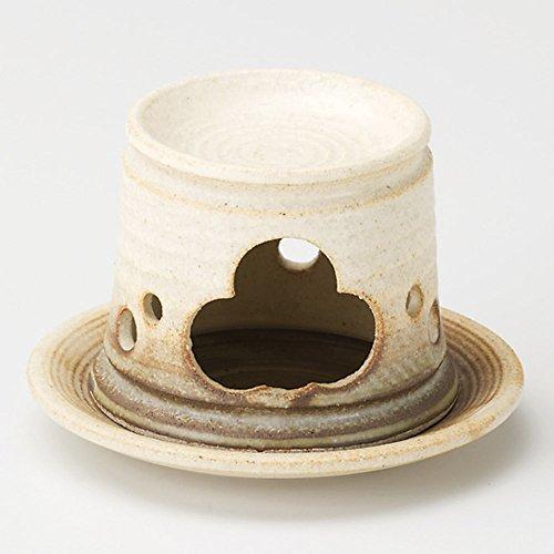 黄釉茶香炉長 [12.5 x 8.8cm 310g] 【茶香炉】   料亭 旅館 和食器 飲食店 おしゃれ 食器 業務用