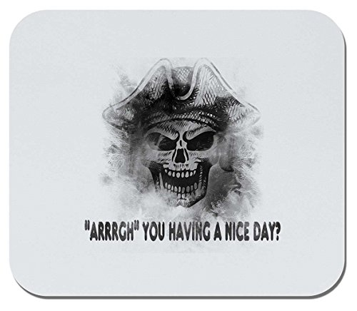 Makoroni - ARRRGH' You Having A Nice Day - Non-Slip Rubber Gaming Office Mousepad, g52