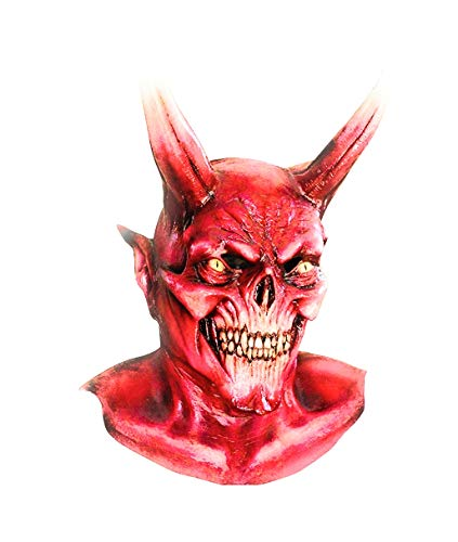 Generique - Masque Squelette diabolique Adulte Halloween