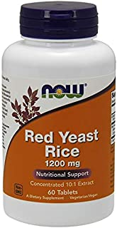 NOW FOODS Red Yeast 1200mg, 60 CT