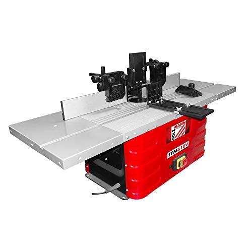 Holzmann TFM610V - Fresadora de mesa (230 V, TFM 610 V)