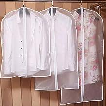 Clothes Covers Kids Clothes Hanging Garment Dress Clothes Suit Coat Dust Cover Home Storage Bag Pouch Case Organizer Wardr...