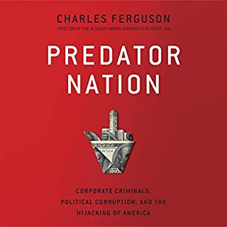 Predator Nation audiobook cover art