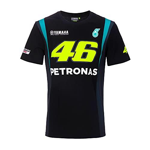 Valentino Rossi Herren Petronas 46 Yamaha T-Shirt, Schwarz, L