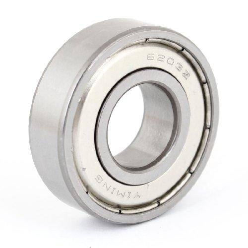 Sourcingmap - 6203z miniatura radial rodamiento rígido de b