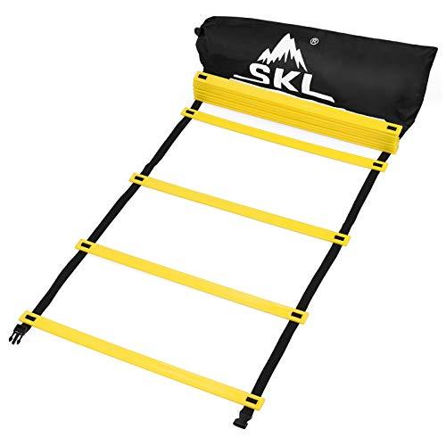 SKL Agility Ladder,6M 12 Rung Speed Ladder Training Ladder for Soccer,...