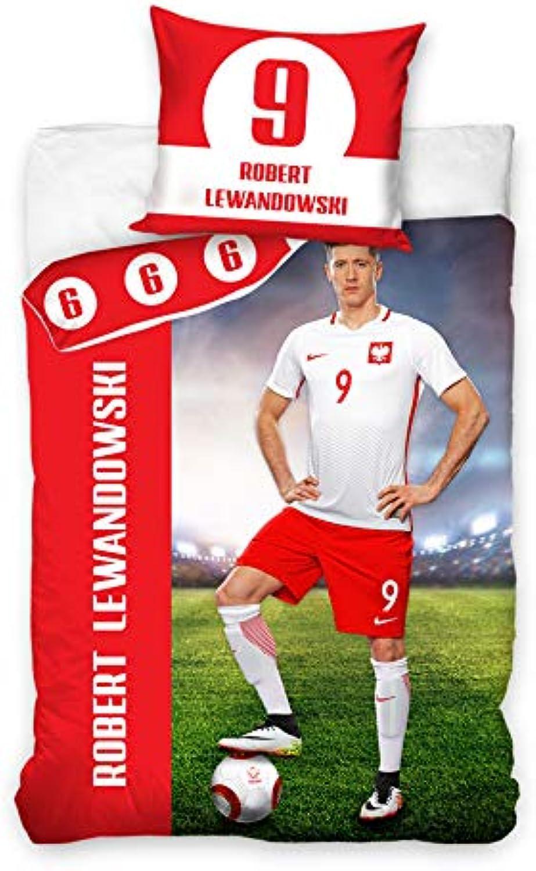 Carbotex Carbotex Carbotex Lewandowski Levy Bettwäsche Polen Poland Fußball 160x200+1x70x80 B07HYZGDCB 5b0ffd