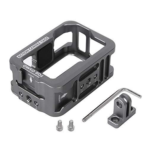 GAESHOW Aluminiumkamera Action Camera Schutzkäfig Vlog Verlängerungsrahmen für DJI Osmo Action Motion Camera Käfig