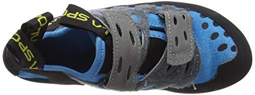 La Sportiva Unisex-Kinder Tarantula Blue Kletterschuhe - 7