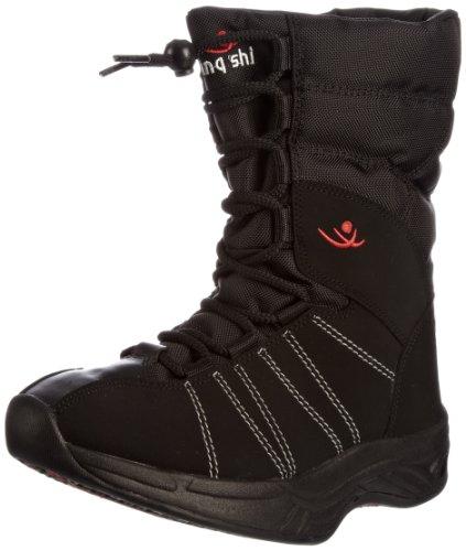 Chung Shi Comfort Step ESKIMO SCHWARZ Women UK 5,5, Damen Ungefütterte Schneestiefel, Schwarz (schwarz), 38.5 EU (5.5 Damen UK)