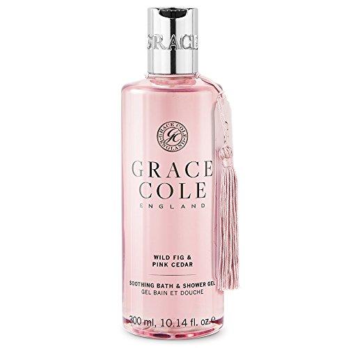 Gel douche et bain 300 ml par Grace Cole - Wild Fig & Pink Cedar