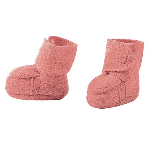 disana Baby Walk-Schuhe Bio-Merinoschurwolle, Rose, Gr. 01 (4-8 Monate)