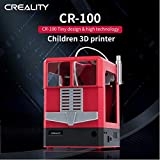 Laecabv Creality CR-100 3D Drucker 3D-Druckmaschinen FDM Online oder TF Karte offline Metallrahmen Upgrade DIY Working Kit - Print Size 100X100X80mm