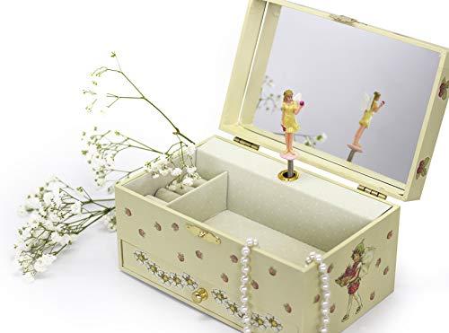"""Trousselier 60615 – Spieluhr """"TR Schublade XL Strawberry"""" (Spieldosen, Musikdosen, Spieluhren) das ideale Geschenk - 5"""