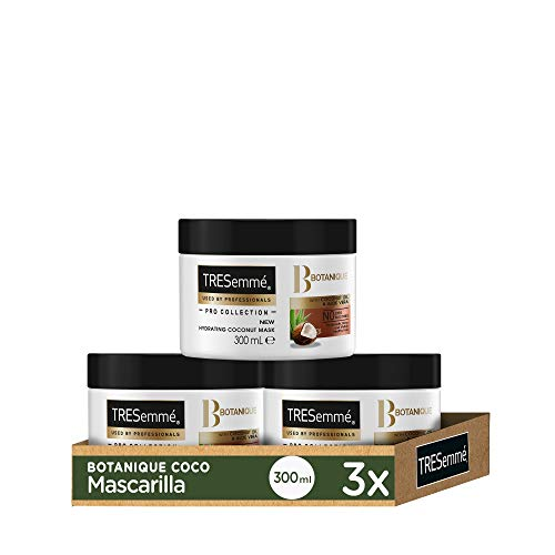 TRESemmé Mascarilla Botanique Coco - Pack de 3 x 300 ml (Total: 900 ml)