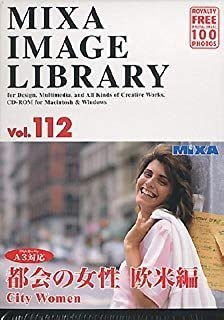 MIXA IMAGE LIBRARY Vol.112 都会の女性 欧米編