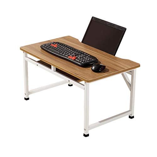 LBYMYB Mesa de ordenador portátil 2 niveles cama perezosa juegos soporte estación de trabajo servicio desayuno mesa plegable